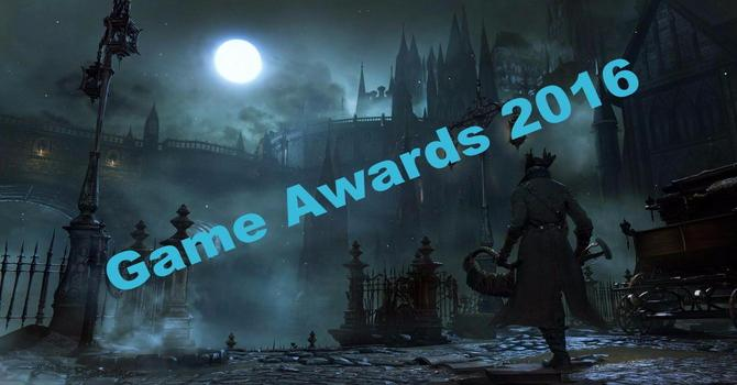 Games Awards 2016