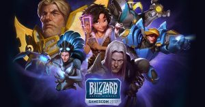 GamesCom Blizzard 2017