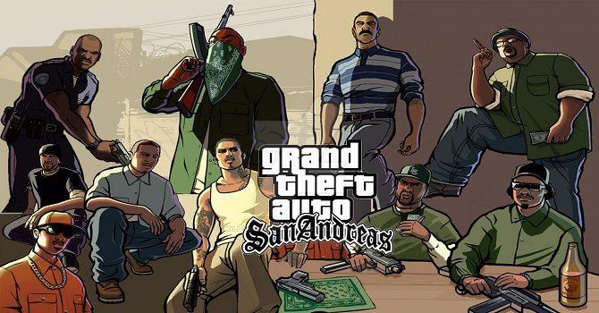 GTA San Andreas კოდების გადმოწერა